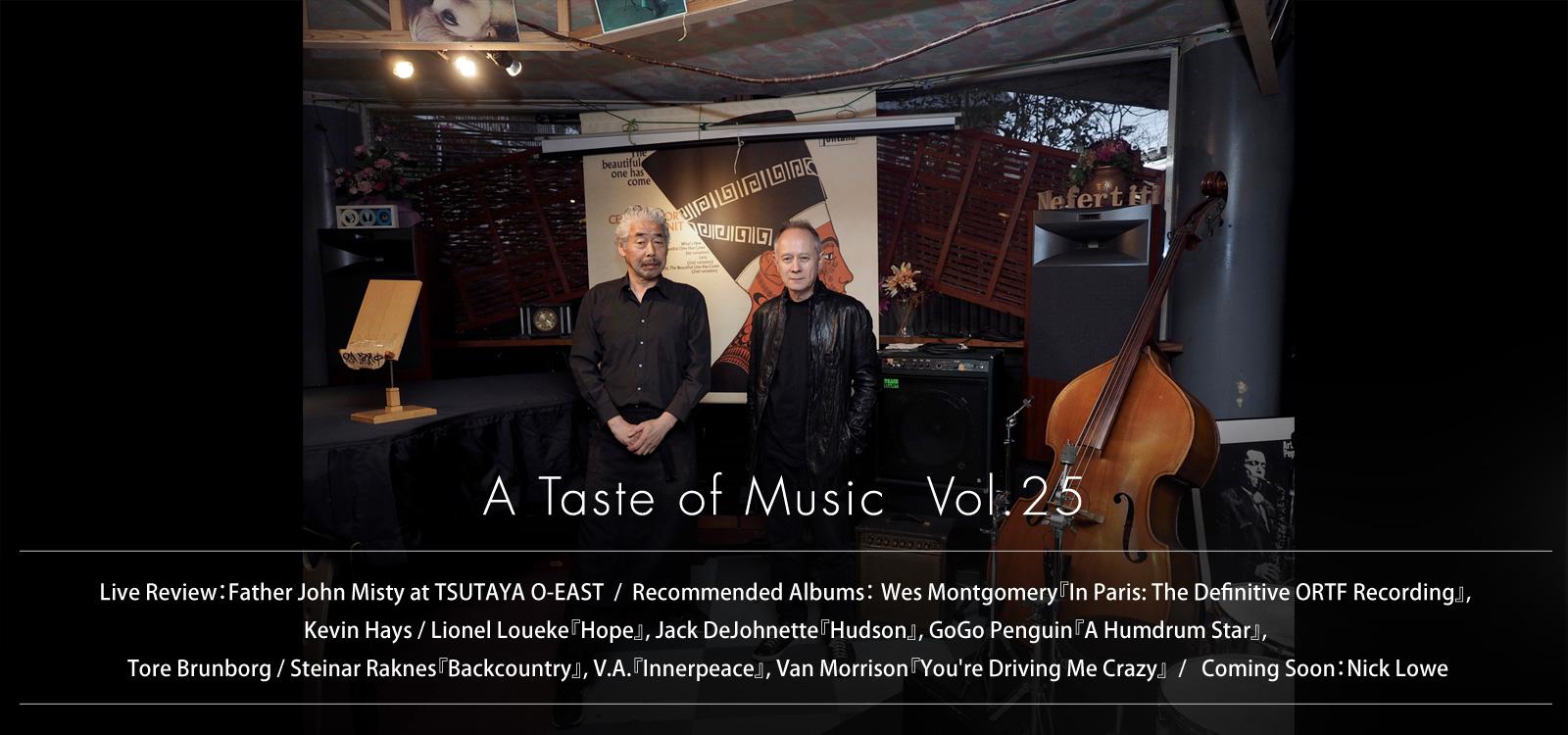 slider image A Taste of Music Vol.25