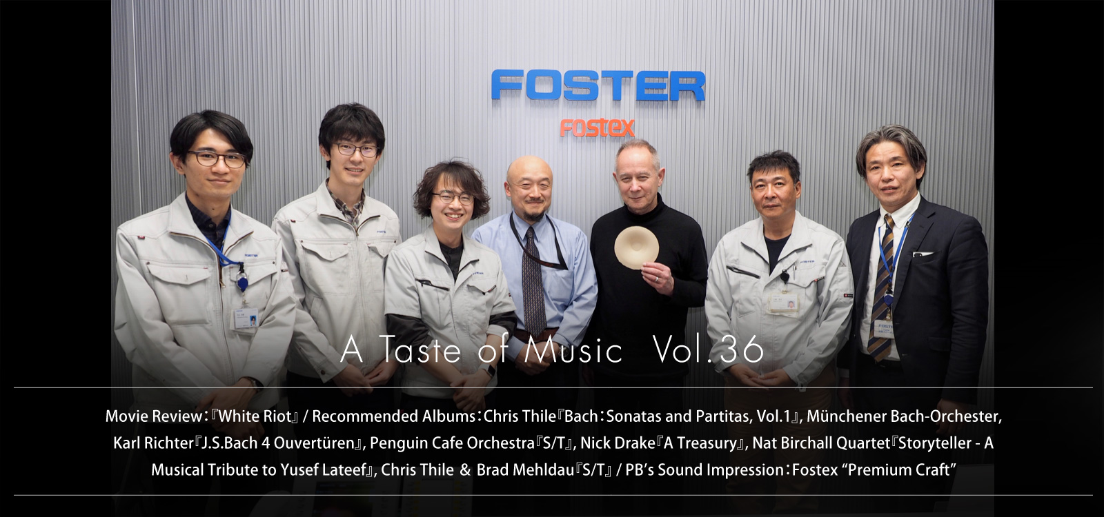 slider image A Taste of Music Vol.36
